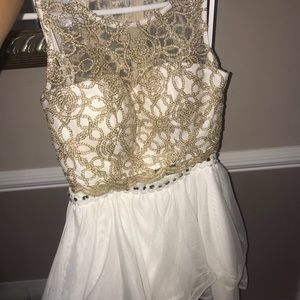 Short two piece dress from Dillard's
